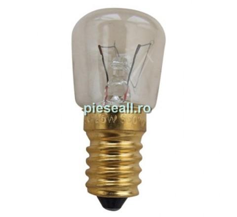Bec aragaz 244105 E14 BEC CUPTOR, 25W-230V, L-58MM, 300°C