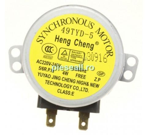 Motor rotire platan cuptor cu microunde BOSCH, SIEMENS 5813395 49TYD-5 MOTOR