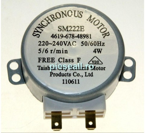 Motor rotire platan cuptor cu microunde WHIRLPOOL, INDESIT D225420 C00313149 MOTOR PLATAN