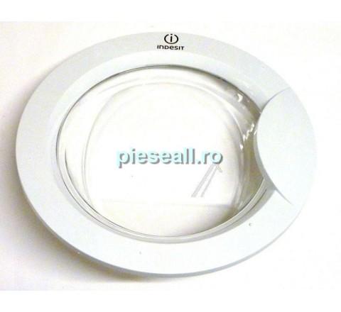 Hublou masina de spalat WHIRLPOOL, INDESIT D305755 C00283998 DOOR FRAME-GLASS PW INDESIT ECOPRIME WM